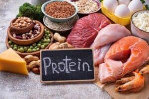 Eiwitrijke voeding afvallen