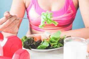 Voeding rijk aan eiwitten om af te vallen