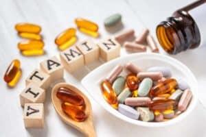 Vitamines en mineralen supplementen