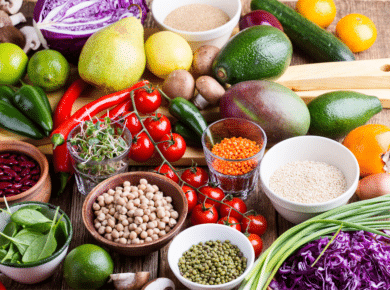 plantaardige voedingsmiddelen