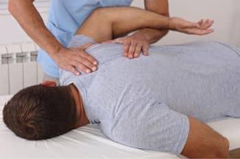 spierherstel bevorderen via een massage