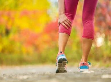 sporten met spierpijn