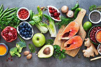 gezond eten is erg belangrijk tijdens het sporten